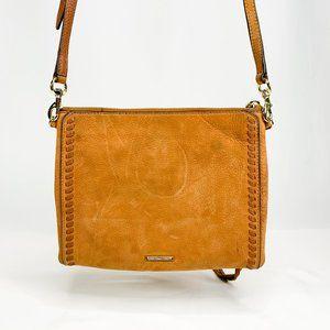 Rebecca Minkoff Vanity Jon Crossbody Brown Leather